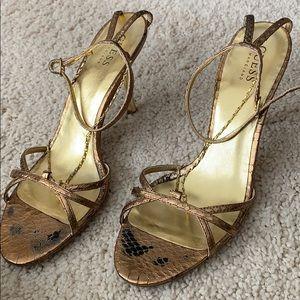 Bronze heel